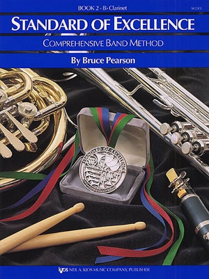 Standard Of Excellence: Comprehensive Band Method Book 2: Clarinet
