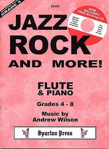 Jazz Rock And More!: Flute: Book & CD