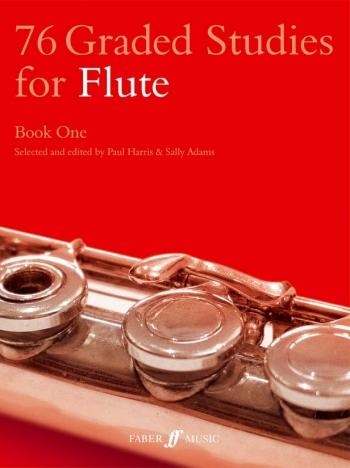 76 Graded Studies For Flute Book 1 (Paul Harris & Sally Adams)