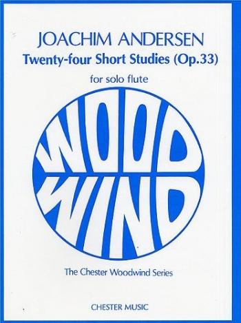 24 Short Studies: Op33: Flute (Chester)