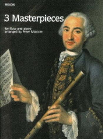 3 Masterpieces: Flute & Piano