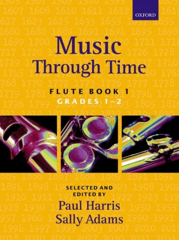Music Through Time Book 1 Grade 1&2: Flute & Piano (harris & Adams)