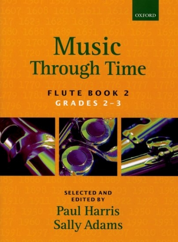 Music Through Time Book 2 Grade 2&3: Flute & Piano (harris & Adams) (Oxford)