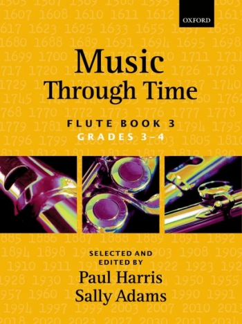 Music Through Time Book 3 Grade 3-4: Flute & Piano (harris & Adams)  (Oxford)