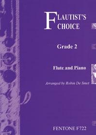 Flautists Choice: Grade 2: Flute & Piano (de Smet)