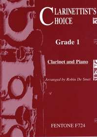 Clarinettists Choice: Vol.1: Clarinet & Piano (de Smet)