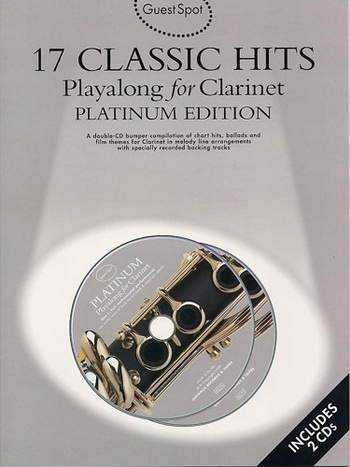 Guest Spot: 17 Classic Hits Platinum Edition: Clarinet: Book & CD