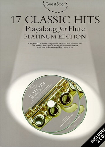 Guest Spot: 17 Classic Hits Platinum Edition: Flute: Book & CD