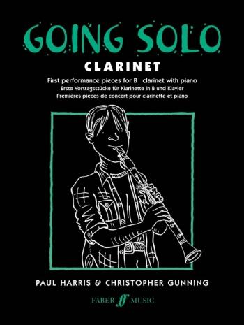 Going Solo: Clarinet & Piano (Paul Harris) (Faber)