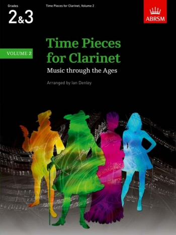 Time Pieces For Clarinet Vol.2: Clarinet & Piano (ABRSM)