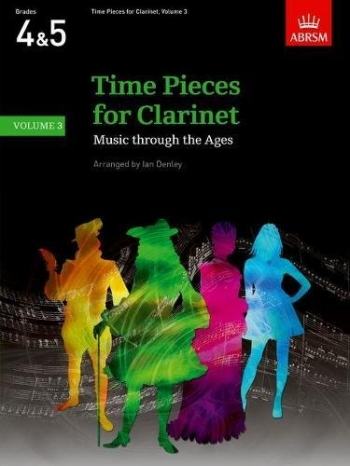 Time Pieces For Clarinet Vol.3: Clarinet & Piano (ABRSM)
