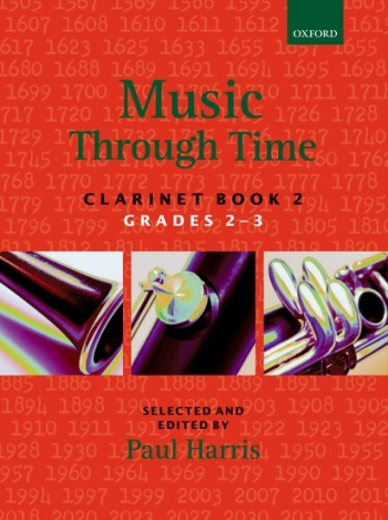 Music Through Time Book 2 Grade 2-3: Clarinet & Piano (Paul Harris) (Oxford)