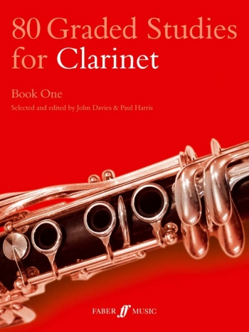 80 Graded Studies Book 1: Clarinet Solo (davies) (Faber)
