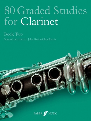 80 Graded Studies Book 2: Clarinet Solo (davies) (Faber)