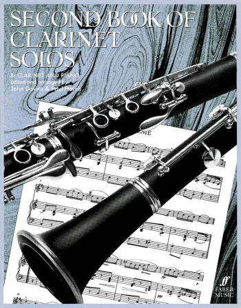 Second Book Of Clarinet Solos: Clarinet & Piano (harris) (Faber)