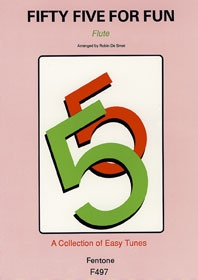 Fifty-Five For Fun: Flute Solo