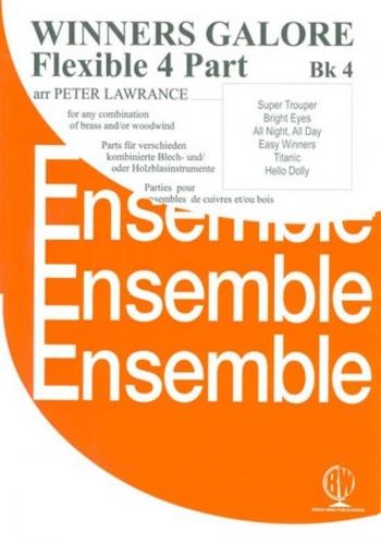 Winners Galore Flexible Brass Or Woodwind in 4 Parts:Book 4