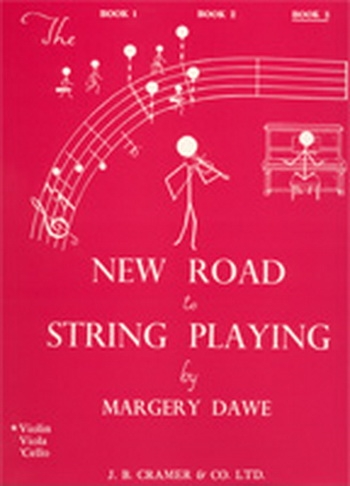New Road To String Playing: Book 3: Violin