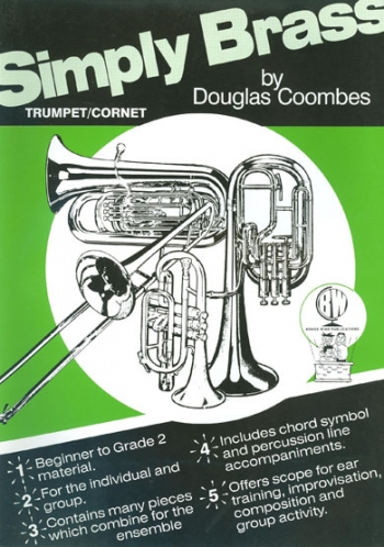 Simply Brass: Trumpet: Book (coombes)
