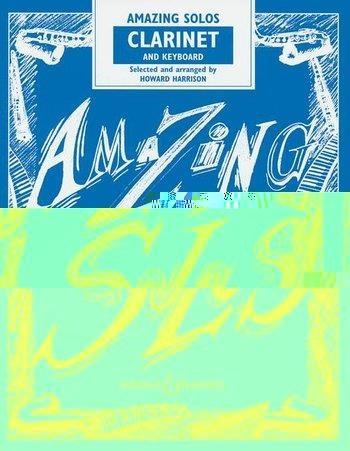 Amazing Solos: Clarinet & Piano