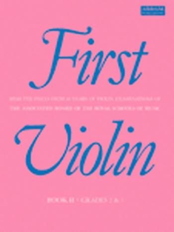 First Violin: Book 2: Album: Violin (ABRSM)