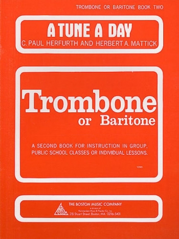 Tune A Day Trombone Or Euphonium: 2: Bass Clef