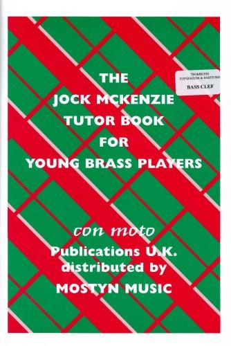 The Jock McKenzie Tutor Book For Young Brass Players - Bass Clef (Euph/Tbn)