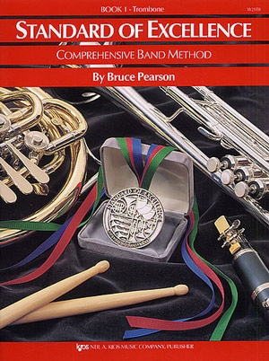 Standard Of Excellence: Comprehensive Band Method Book 1 Trombone Bass Clef