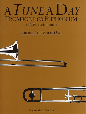 Tune A Day Trombone: 1: Treble Clef