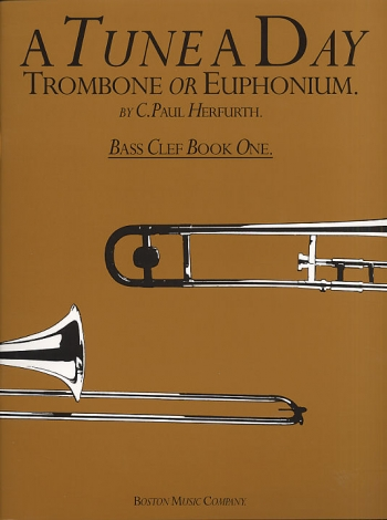 Tune A Day Trombone Or Euphonium: 1: Bass Clef