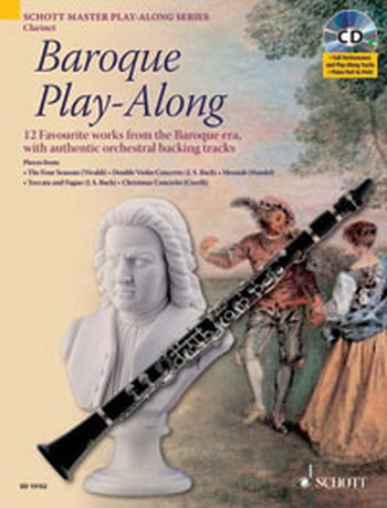 Baroque Play Along: Clarinet: Book & CD