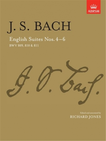 English Suites No.4-6: Piano (ABRSM)
