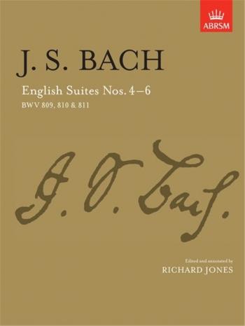 English Suites No.4-6: Piano (ABRSM)