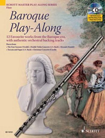 Baroque Play Along: Flute Book & CD