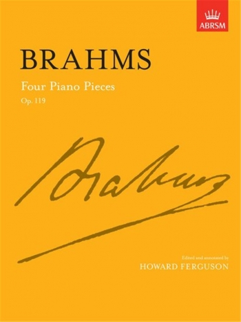 4 Piano Pieces Op.119: Piano (ABRSM)