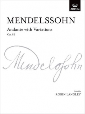 Andante With Variations Op.82: Piano (ABRSM)