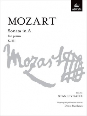 Sonata A Major: K331: Piano (ABRSM)
