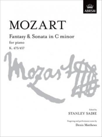 Fantasy And Sonata In C Minor K475: 457: Piano (ABRSM)