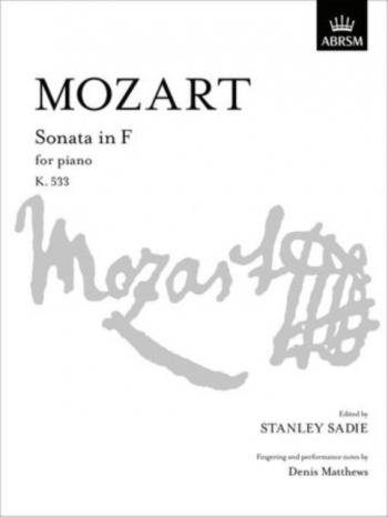 Sonata F: K533: Piano (ABRSM)