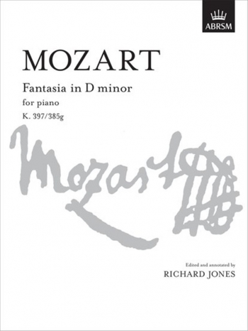 Fantasia : D Minor K397: Piano  (ABRSM)