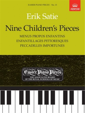 9 Childrens Pieces: Easy: Epp13 (Easier Piano Pieces) (ABRSM)