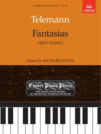 Fantasias: First Dozen: Easy: Epp22 (Easier Piano Pieces) (ABRSM)