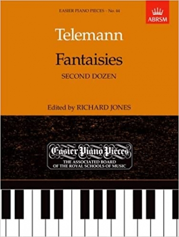 Fantasias: Second Dozen: Easy: Epp44 (Easier Piano Pieces) (ABRSM)