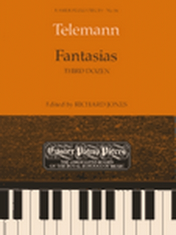 Fantasias: Third Dozen: Easy: Epp56 (Easier Piano Pieces) (ABRSM)