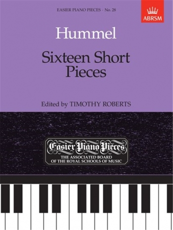 16 Short Pieces: Easy: Epp28 (Easier Piano Pieces) (ABRSM)