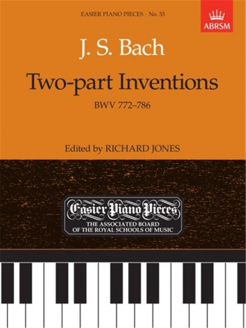 Two Part Inventions: Epp33 (Easier Piano Pieces) (ABRSM)
