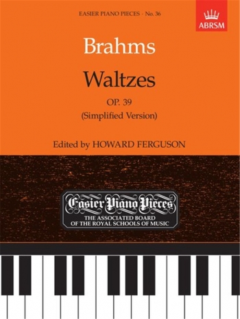 Waltzes Op.39: Epp36 (Easier Piano Pieces) (ABRSM)