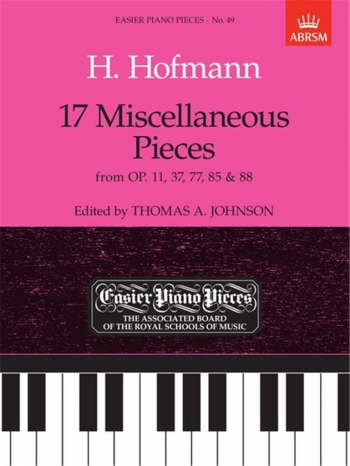 17 Miscellaneous Pieces: Epp49 (Easier Piano Pieces) (ABRSM)