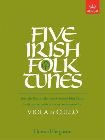 5 Irish Folk Tunes: Viola Or Cello and Piano