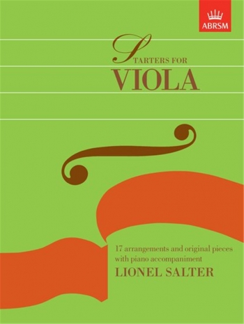 Starters For Viola: Viola and Piano